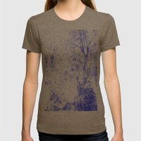 Blue trees Womens Fitted Tee Tri-Coffee SMALL