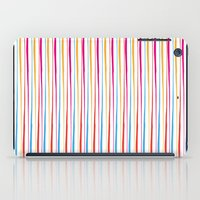 Happy Wobbly Lines II iPad Case