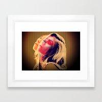 MOAN Framed Art Print