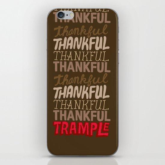 Thanksgiving, Black Friday iPhone & iPod Skin
