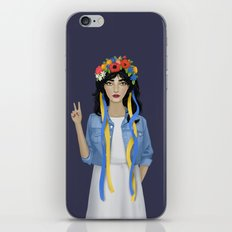 Jean Jacket Ukrainian iPhone & iPod Skin