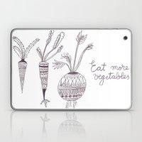 Eat more vegetables Laptop & iPad Skin
