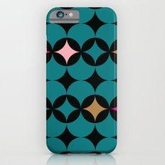 Geometric Blue Slim Case iPhone 6s