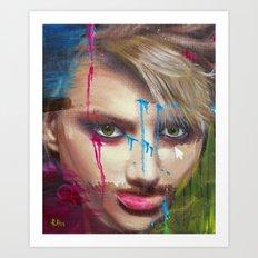 Evidencias De Una Imagen… Art Print