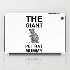 The Giant Pet Rat Mummy iPad Case