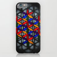 iPhone & iPod Case featuring Flower of Life by johngerGEOs