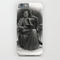 iPhone & iPod Case featuring The Omnivorous Reader by RileyStark