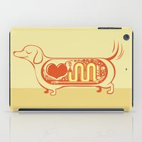 I Heart Sausage Dogs iPad Case