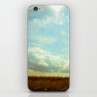 Shooting The Breeze iPhone & iPod Skin