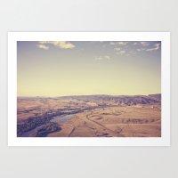 Dream World::denver Art Print