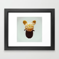 Clementine Shadow Character Framed Art Print