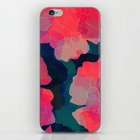 Blushing Flowers- Purple iPhone & iPod Skin