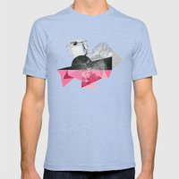 LINE Mens Fitted Tee Tri-Blue SMALL