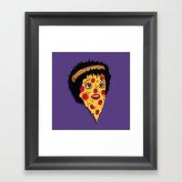 Pizza Minnelli Framed Art Print