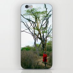 Masai Warrior iPhone & iPod Skin