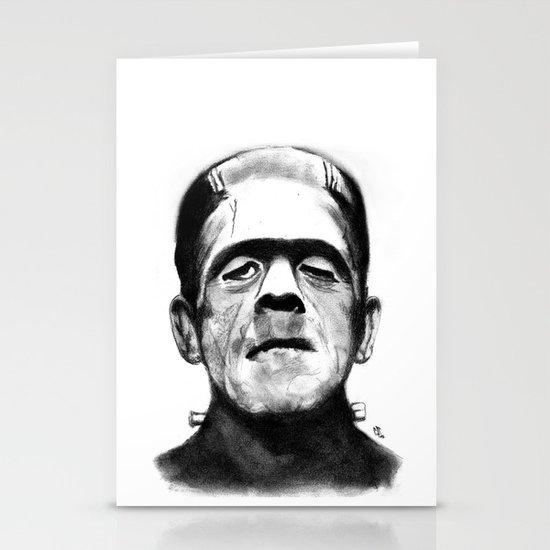 Frankenstein Stationery Card