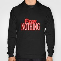 Rue Nothing Red Logo Hoody