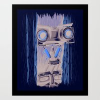 Here's Johnny 5! Art Print