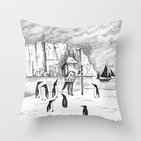 Antarctic Explorer Throw Pillow