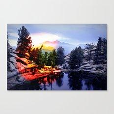 Colorado Flag/Landscape Canvas Print