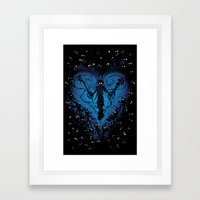 Heartless.  Framed Art Print