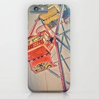 iPhone & iPod Case featuring 1930's Ferris Wheel by Sarah Zanon