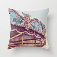 On the Piazza Throw Pillow