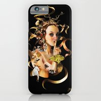 iPhone Cases featuring Mother Moth by Jenelle Grenier