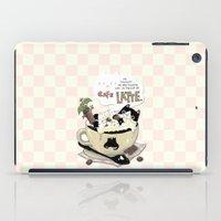 Cafe Latte iPad Case