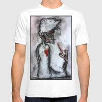 Oddity Mens Fitted Tee White SMALL
