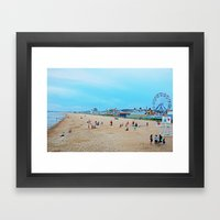 Old Orchard Beach  Framed Art Print