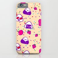 iPhone Cases featuring Kawaii Bento Party by Halo Sama