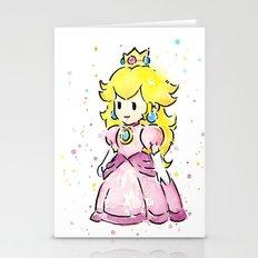 Princess Peach Stationery Cards