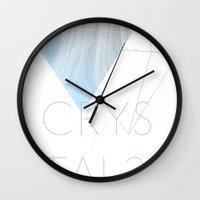 CRYSTAL? Wall Clock