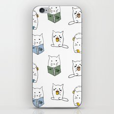3 Cats Pattern iPhone & iPod Skin