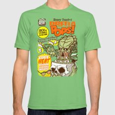 PredaPOPS! Mens Fitted Tee Grass SMALL
