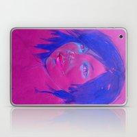 Purple Girl Laptop & iPad Skin