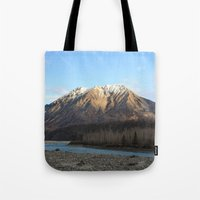 Blue Creek, Alaska Tote Bag
