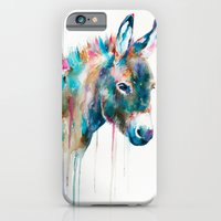 iPhone Cases featuring Donkey by Slaveika Aladjova