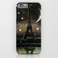 iPhone & iPod Case featuring Paris Midnight by Dnzsea