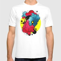 Trippie Beard Mens Fitted Tee White SMALL