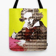 Ludwig van Beethoven 3 Tote Bag