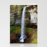 Lower Falls of Hills Creek Stationery Cards