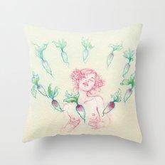 Natasha Shy Throw Pillow