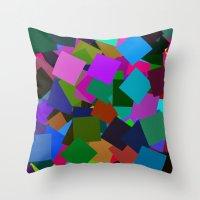 Squares From Arlo Take #… Throw Pillow