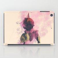 Rose And Smoke Romance iPad Case