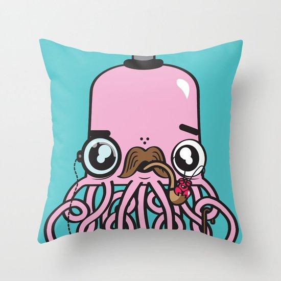 Oh Crab! Throw Pillow
