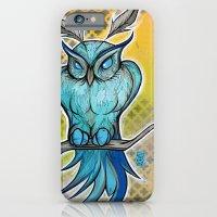 Blue Owl iPhone 6 Slim Case