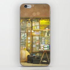 Record Store iPhone & iPod Skin