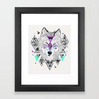 HONIAHAKA by Kyle Naylor and Kris Tate Framed Art Print